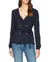 Vero Moda - Vmallison Ls Top Suit Jacket - Lyst 66843ab520c7