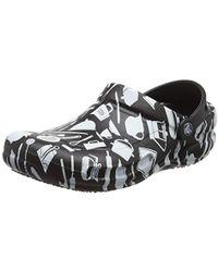 c670967e74c29a Crocs™ Unisex Adults  Bistro Graphic Clog U in Black - Save ...