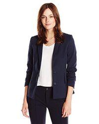 Lacoste - Long Sleeve Cotton Stretch Milano Blazer - Lyst