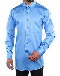 Geoffrey Beene - S Dress Shirts Regular Fit Solid Sateen - Lyst
