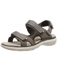 eb32301a8fc Clarks Un Roam Step Womens Sporty Sandals Women s Sandals In Red in ...
