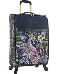 "Tommy Bahama - 19"" Expandable Carry On Spinner Luggage, Blue Paisley - Lyst"