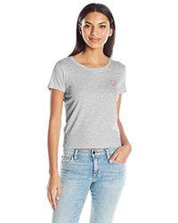 Guess - Short Sleeve Baby Crew Logo T-shirt - Lyst