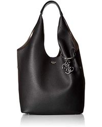 Guess - Flora Large Hobo - Lyst
