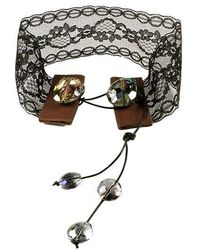 Sibilla G Jewelry - Sibilla G Delicate Boho Lace Choker - Lyst