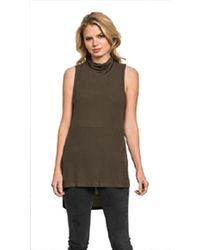 Feel The Piece - By Terre Jacobs Flynn Top In Olive - Lyst