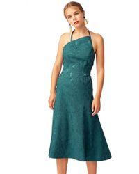 Keepsake - Keepsake Endless Love Midi Dress In Emerald - Lyst