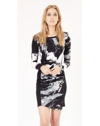 SW3 - Dakota Long Sleeve Print Dress - Lyst