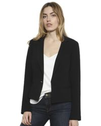 Drew - Drew Eve Blazer In Black - Lyst