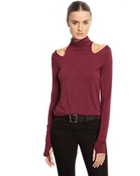 Feel The Piece - By Terre Jacobs Madeline Top In Port - Lyst