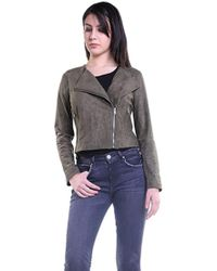 BB Dakota - Allerton Faux Suede Jacket In Sage - Lyst