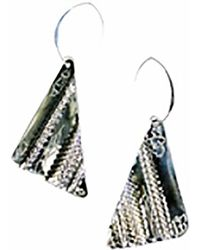Sibilla G Jewelry - Sibilla G Oxidized German Silver Earrings - Lyst