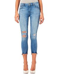 DL1961 - Florence Instasculpt Cropped Jean In Hendrix - Lyst