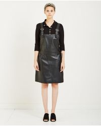 Just Female   Coba Leather Dress   Lyst