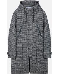 AMI - Long Rain Coat - Lyst