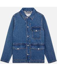 AMI - Workwear Jacket - Lyst