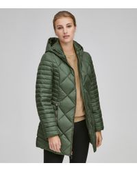 Andrew Marc - Kameron Chevron Down Coat - Lyst
