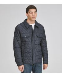 Andrew Marc - Medford Shirt Jacket - Lyst
