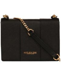 Andrew Marc - Nicolina Saffiano Leather Flap Crossbody - Lyst