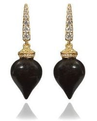 Annoushka - Touch Wood Ebony Earrings - Lyst