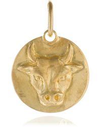 Annoushka - Mythology Taurus Pendant - Lyst
