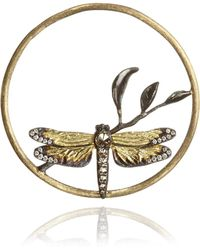 Annoushka - 18ct Gold Diamond Dragonfly Hoopla - Lyst
