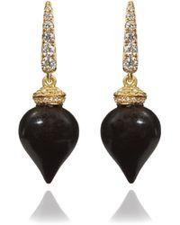 Annoushka - Touch Wood Ebony Earrings - Lyst