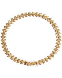 Annoushka - Gold And Diamond Vine Bracelet - Lyst