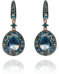 Annoushka - Dusty Diamonds Topaz Drop Earrings - Lyst