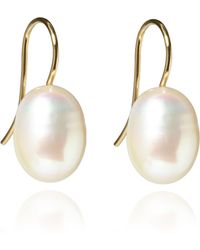 Annoushka - Classic Baroque Pearl Drop Earrings - Lyst