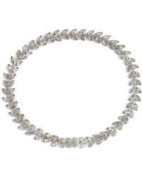 Annoushka - Vine White Sapphire Bracelet - Lyst