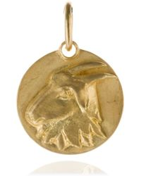 Annoushka - Mythology 18ct Gold Capricorn Pendant - Lyst
