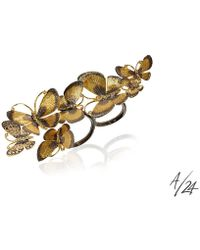 Annoushka - Butterflies 18ct Gold Diamond Cocktail Ring - Lyst