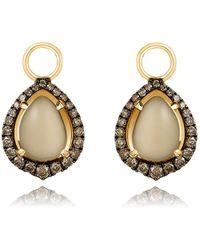Annoushka - Olive Quartz Earring Drops - Lyst