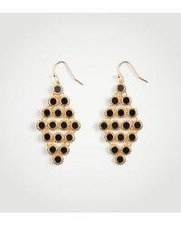 Ann Taylor | Mother Of Pearl Chandelier Earrings | Lyst