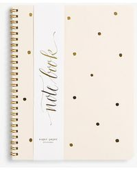 Ann Taylor - Sugar Paper Gold Dot Spiral Notebook - Lyst