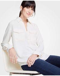 Ann Taylor - Camp Shirt - Lyst