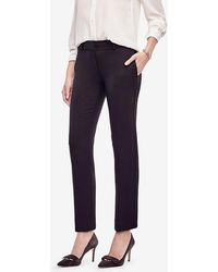 Ann Taylor | The Tall Ankle Pant In Doublecloth - Kate Fit | Lyst