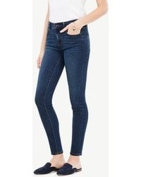 Ann Taylor - Modern All Day Skinny Jeans In Mariner Wash - Lyst