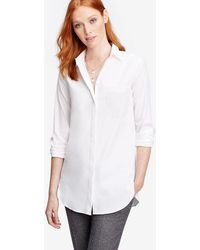 Ann Taylor - Petite Oversized Shirt - Lyst