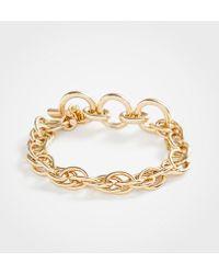 Ann Taylor - Chain Bracelet - Lyst
