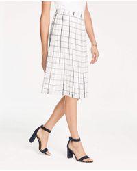 4d4a593c43d276 Ann Taylor Petite Sequin Pencil Skirt in Metallic - Lyst