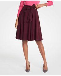 Ann Taylor - Chiffon Full Skirt - Lyst