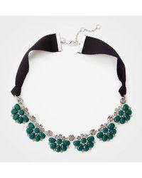 Ann Taylor - Stone Statement Necklace - Lyst