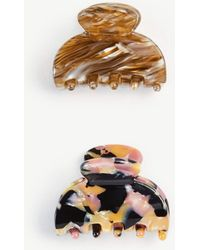 Ann Taylor - Claw Hair Clip Set - Lyst