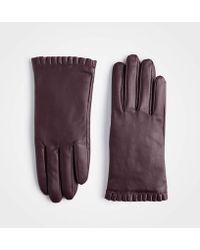 Ann Taylor - Ruffle Cuff Gloves - Lyst