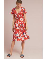 c553fb2e9351b Anthropologie - Regents Floral Midi Dress - Lyst