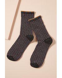 Becksöndergaard - Dot Lurex Ankle Socks - Lyst