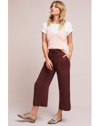 Marrakech - Lace-up Cropped Pants - Lyst