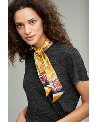 Jessica Russell Flint - Cairocats Oyster Silk Necktie - Lyst